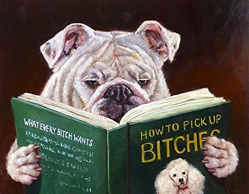 - Dog Reading How to Pickup Bitches by Lucia Heffernan