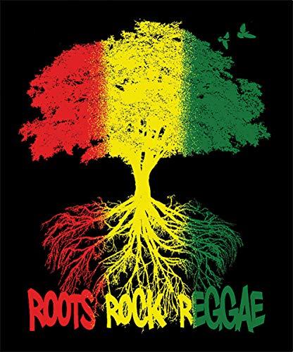 Roots Rock Reggae Fleece Blanket - 79