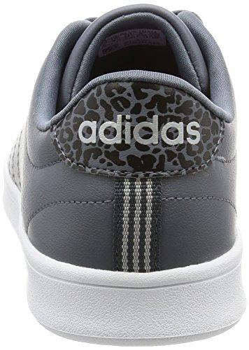adidas Advantage Clean Qt, Zapatillas para Mujer Gris (Onix/onix/msilve)