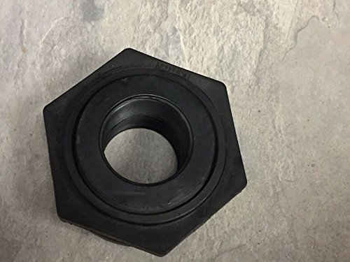 Ace Fittings - 10507, 1-1/2″ Ace Polypropylene Bulkhead TANK FITTING