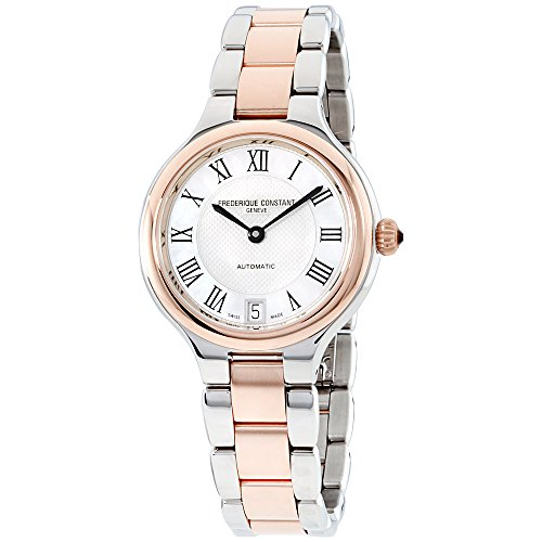 Frederique Constant Women's 'Delight Automatic Stainless Steel Casual Watch, Color:Two Tone (Model: FC-306MC3ER2B)