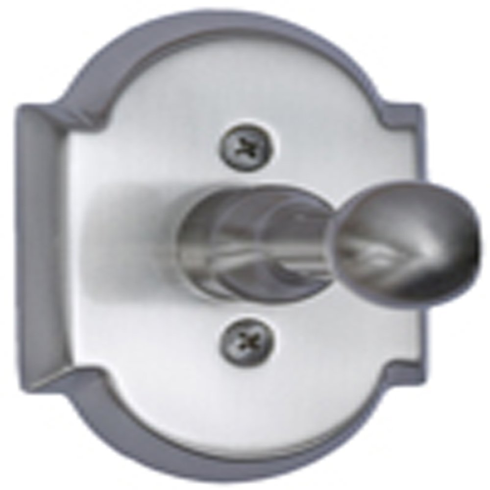 AIW Satin Nickel Arch Top Single Robe Hook