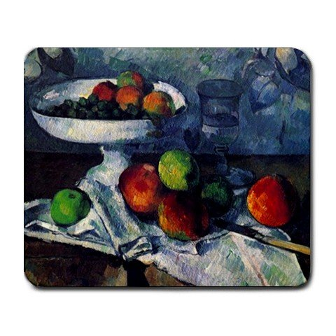 Price comparison product image Still Life with Fruit Bowl By Paul Cezanne Mouse Pad