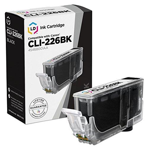 LD Canon CLI-226 Dye Black Compatible Inkjet Cartridge W/ Ch