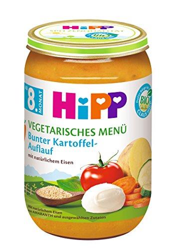 HiPP Bunter Kartoffel-Auflauf, 6er Pack (6 x 220 g) 6420-02