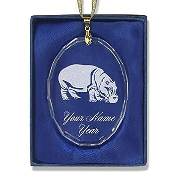 Image Unavailable - Amazon.com: SkunkWerkz Christmas Ornament, Hippopotamus