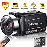 Best Hd Camcorder Under 200s - Camcorder Video Camera Full HD 1080p 30FPS Camcorder Review