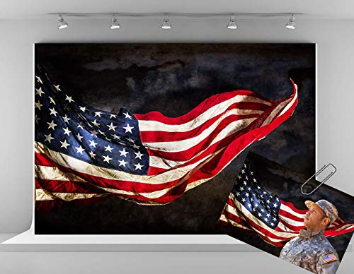 Kate 7x5ft Patriotic Photography Backdrops America Flag Backdrop USA Independence Day Background 4th of July Photo Backdrop Studio