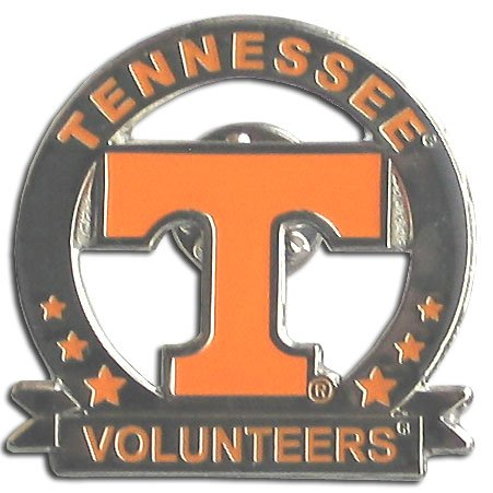 Officially Licensed College Glossy Pin - Tennessee - Lapel Volunteers Pins Tennessee