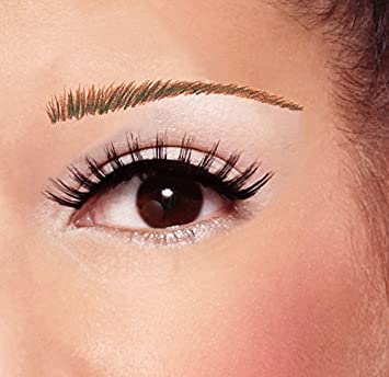 Amazon.com : Temporary Tattoo Eyebrows: Athena (Brown) : Beauty