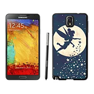 Samsung Note 3 Case,2015 Hot New Fashion Stylish Forever Young Tinkerbell Black Case Cover for Samsung Note 3