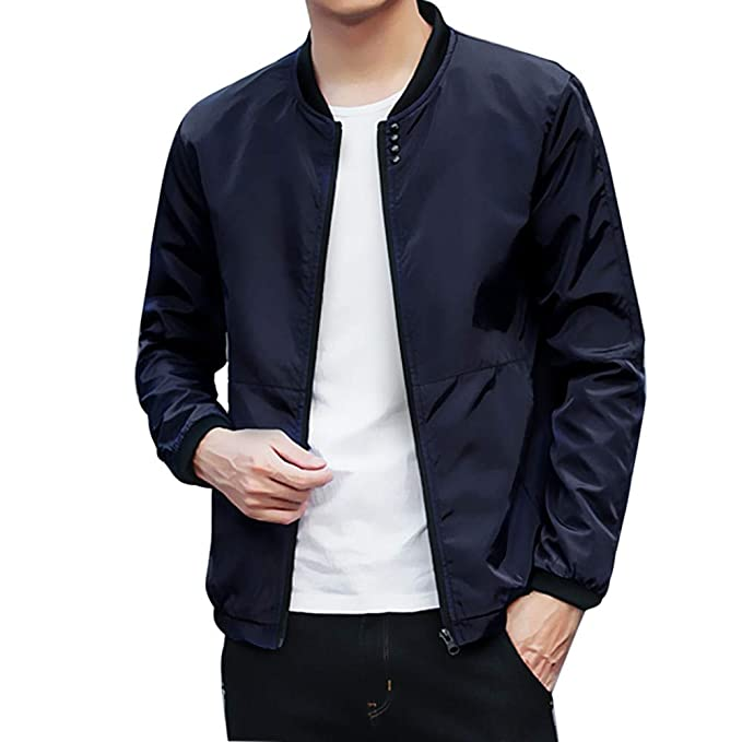 HOSOME Men Jacket Winter Peacoat Brand Coats at Amazon Mens Clothing store:
