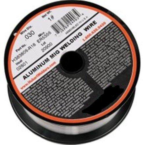 Hobart H381808-R18 1-Pound ER4043 Aluminum Welding Wire, 0.035-Inch by Hobart