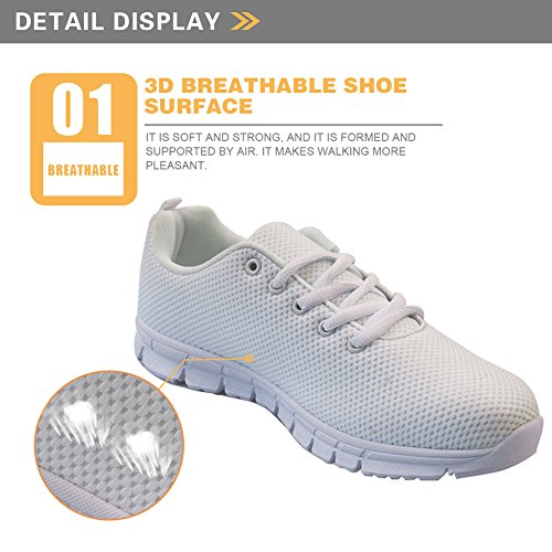 US5 Casual 12 Cartoon Shoes Flats Cats Tennis Running Walking Women's Nopersonality Sneakers wvHOqX8zz