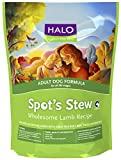 Halo Spot's Stew Adult Dog, Lamb Recipe, 28-Pounds