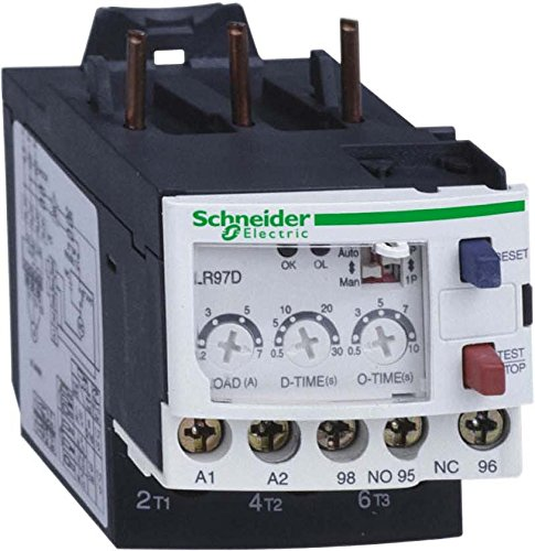 110 V White Schneider LR97D07F7 1.2-7 A AC TeSys Electronic Over Current Relay