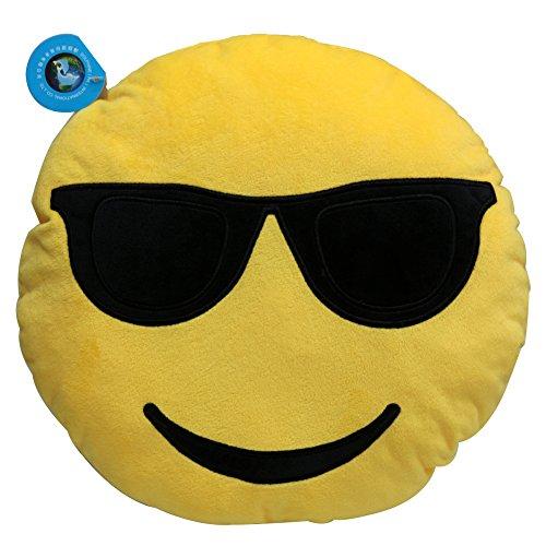 Dolphineshow Emoticon Sunglasses Cushion Stuffed product image
