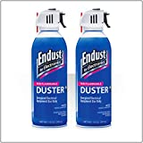 Endust 248050 10oz. Duster Non-Flammable with Bitterant, Twin Pack