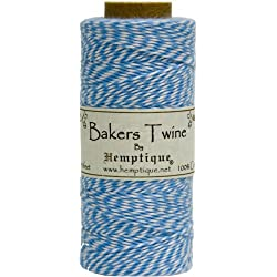 Blue/White Baker's Twine Spool