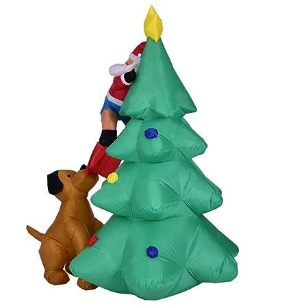 YYZZ - Figura de árbol de Navidad Hinchable (1,8 m): Amazon ...