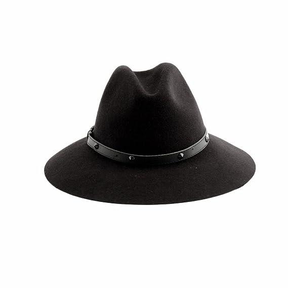 66e67bcb9404d Cult - Chapeau - Femme noir noir Large: Amazon.fr: Vêtements et ...