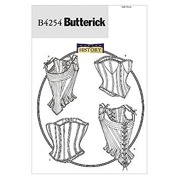 Butterick Schnittmuster 4254 – Historisches Kostüm bleibt & Korsetts ...