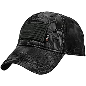 5.11 Kryptek HIGHLANDER Tactical Cap & Patch Bundle