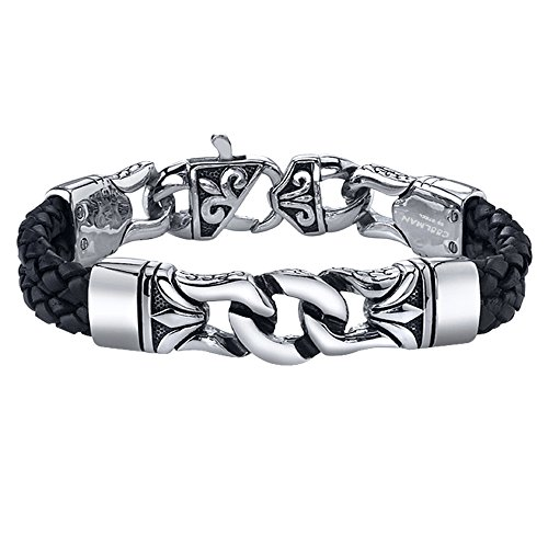 Coolman Stainless Braided Bracelet Bracelets
