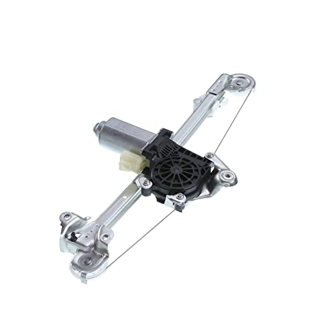 A-Premium Power Window Regulator with Motor For Chevrolet Malibu 1997-2003  Classic 2004-2005 Oldsmobile Cutlass 1997-1999 Rear Left Driver Side