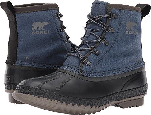 (SOREL Men's Cheyanne Ii Short CVS Collegiate Navy/Quarry Ankle-High Rain Boot - 10M)