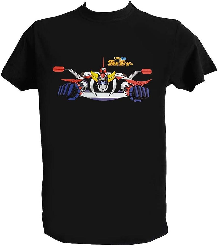 UZ Design T Shirt Goldrake UFO Robot Anime Manga Anni 70 80 Go Nagai