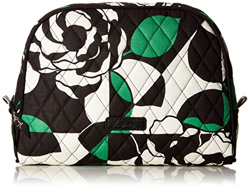 Vera Bradley Large Zip Cosmetic, Imperial Rose