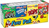 Kellogg's Fun Pack Cereal, 8.56 Ounce