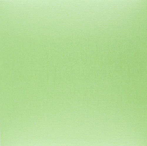 "Bazzill Bling Cardstock 12""X12""-Emerald City 25 per Pack"