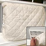 Evelots Indoor Air Conditioner Cover, Beige