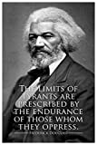Frederick Douglass The Limits of Tyrants Famous Motivational Inspirational Quote Cool Wall Decor Art Print Poster 12x18
