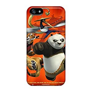 Top Quality Protection Movie Kung Fu Panda 2 Case Cover For Iphone 5/5s
