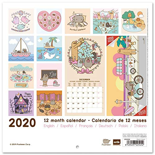 Amazon.com: Set: Pusheen, Rose Collection, Official 2020 ...