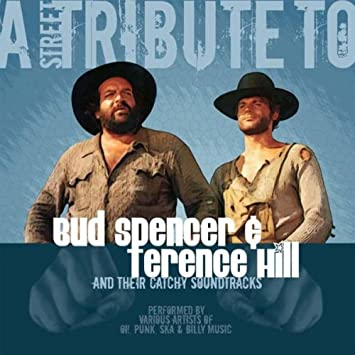 A Street Tribute To Bud Spencer Terence Hill