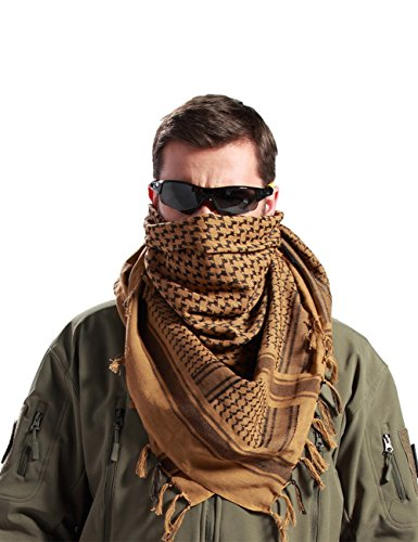 FREE SOLDIER Military Shemagh Tactical Desert Keffiyeh Scarf Wrap