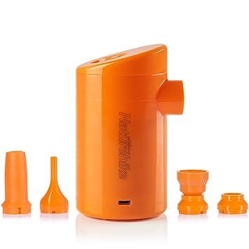 Tentock Mini Batería Portátil USB de Plástico de Bomba de Inflar Desinflar Al aire Libre Bomba