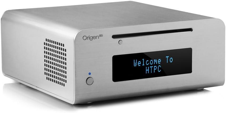 OrigenAE M10 HTPC Plata 150 W - Caja de Ordenador (HTPC, PC, Aluminio, Mini-ITX, Plata, 150 W): Amazon.es: Informática