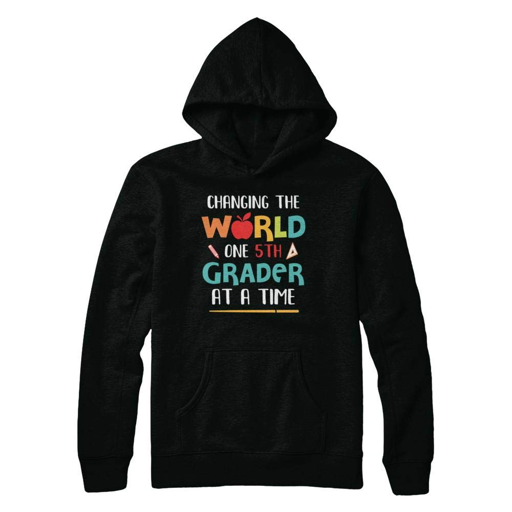 Changing The World One 5th Grader Back To School Tea Shirt