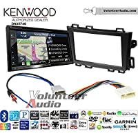 Volunteer Audio Kenwood DNX574S Double Din Radio Install Kit with GPS Navigation Apple CarPlay Android Auto Fits 2009-2013 Nissan Murano