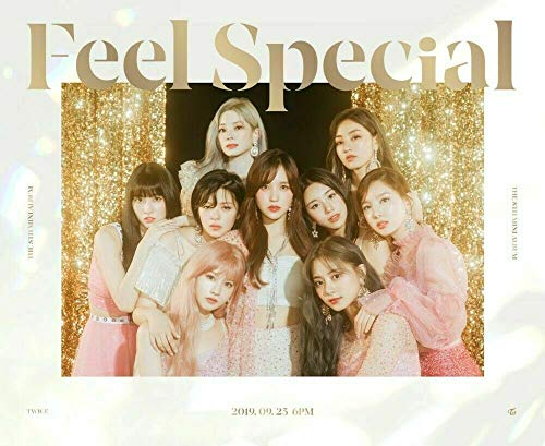 Twice 'Feel Special' 8th Mini Album A Version CD+88p PhotoBook+Lyrics Paper+5p PhotoCard+1p Gold PhotoCard+Pre-Order+Message PhotoCard SET+Tracking Kpop Sealed
