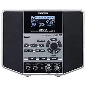 Boss eBand JS-10 Audio Player with Guitar Effects - Black/Silver