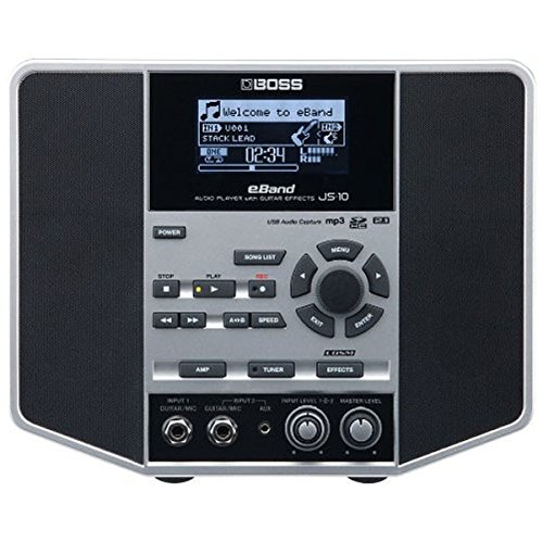 (Boss eBand JS-10 Audio Player with Guitar Effects - Black/Silver)
