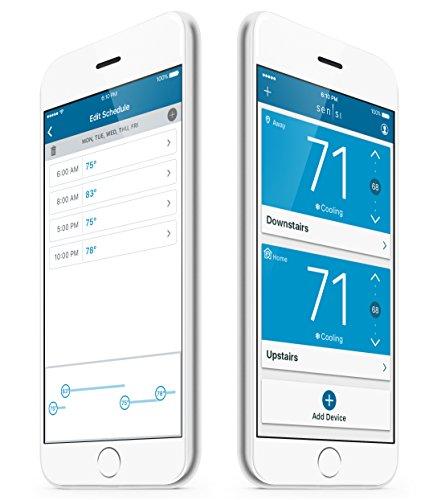 emerson thermostats sensi smart thermostat wi fi up500w. Black Bedroom Furniture Sets. Home Design Ideas