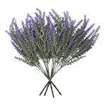 Houseables-Artificial-Lavender-Flower-Purple-4-Bundles-Plastic-Fake-Flowers-Faux-Stems-Flocked-Lavendar-Sprigs-Floral-Arrangement-Bouquet-Plant-Wreath-Home-Decor-Realistic-Plants-Decorations