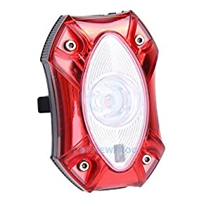 Raypal 3W USB Rechargeable Rear Bicycle Light WaterProof Taillight Bike Cycling